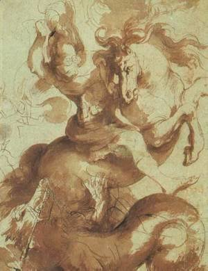 Rubens - St. George Slaying the Dragon