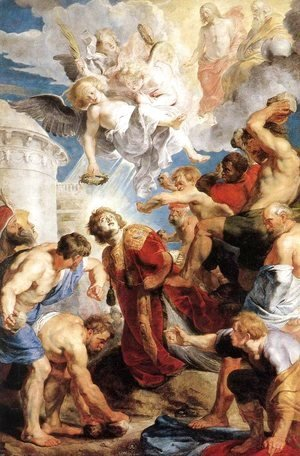 Rubens - The Martyrdom of St. Stephen