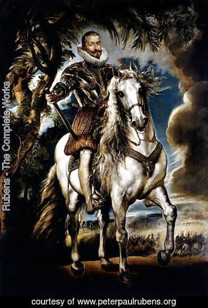 Rubens - The Equestrian Portrait of the Duke of Lerma