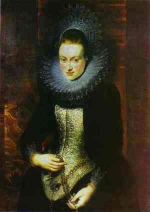 Rubens - Portrait of a Lady with a Rosary