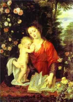 Rubens - Madonna and Child