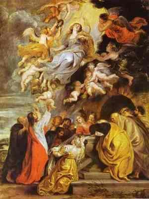 Rubens - The Assumption of the Virgin