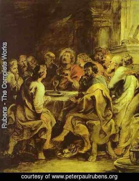 Rubens - The Last Supper 2
