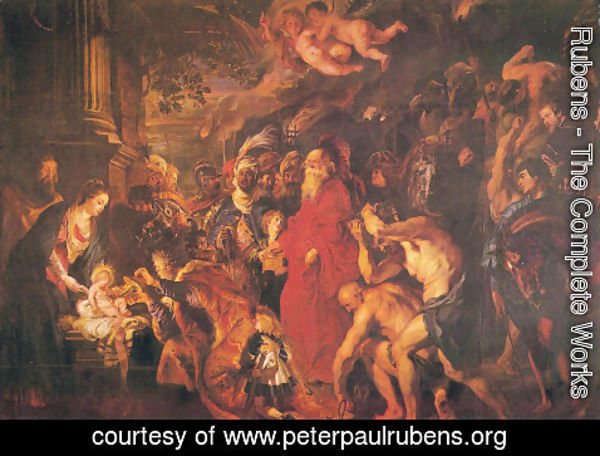 Rubens - Adoration of the Magi 3