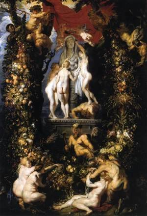 Rubens - Nature Adorning the Three Graces