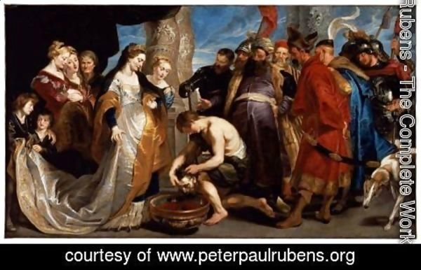Rubens - Queen Tomyris before the Head of Cyrus