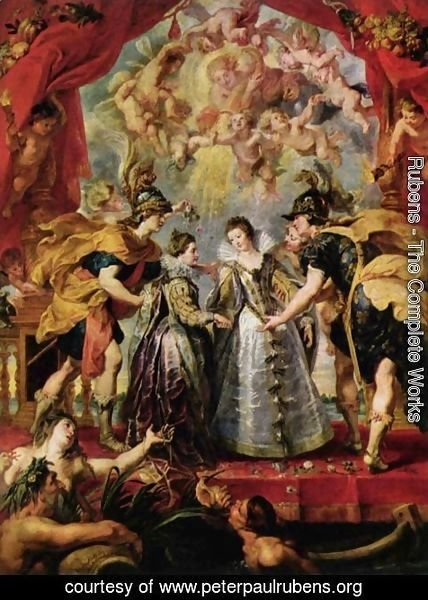 Rubens - The Exchange of Princesses