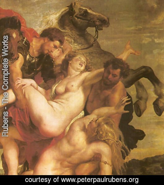 Rubens - The Leucippo's daugthers Kidnapping