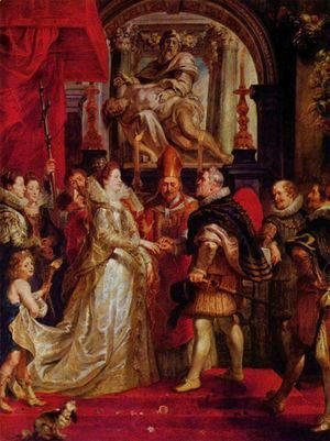 Rubens - The Marriage