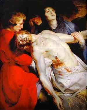 Rubens - The Entombment (detail)