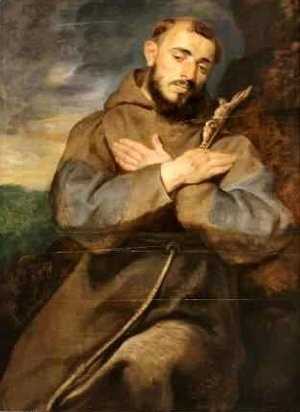 St Francis in Meditation