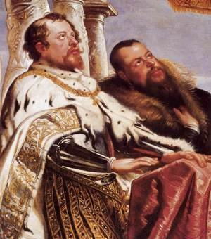 Rubens - The Gonzaga Family Worshipping the Holy Trinity (detail)