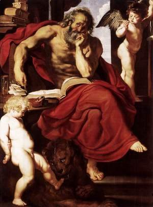 Rubens - St Jerome in His Hermitage