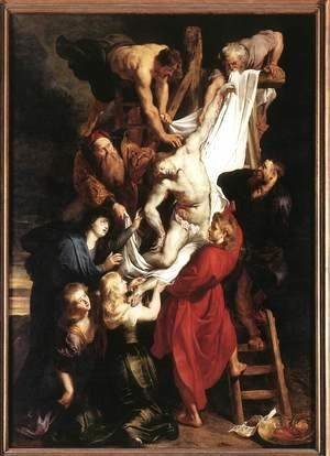Rubens - Descent from the Cross (centre panel)