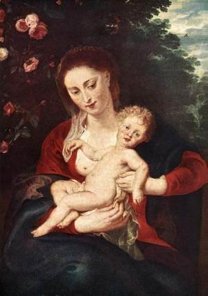 Rubens - Virgin and Child 2