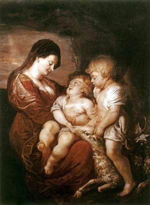 Rubens - Virgin and Child with the Infant St John