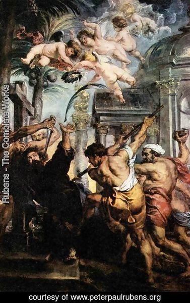 Rubens - Martyrdom of St Thomas