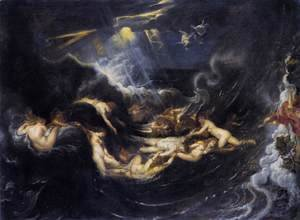 Rubens - Hero and Leander 2