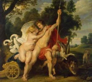 Rubens - Venus and Adonis