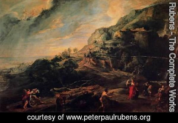Rubens - Ulysses and Nausicaa on the Island of the Phaeacians