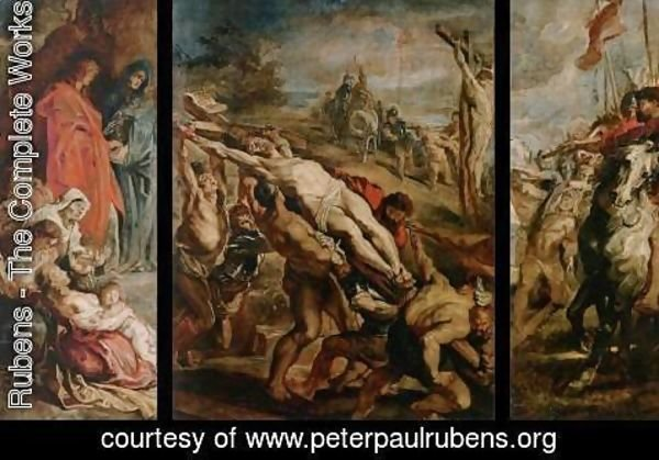 Rubens - Raising of the Cross