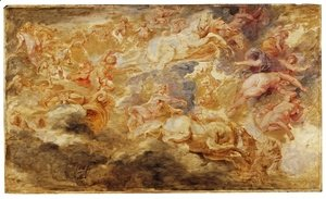 Rubens - Apollo in the Chariot of the Sun 1621 1625
