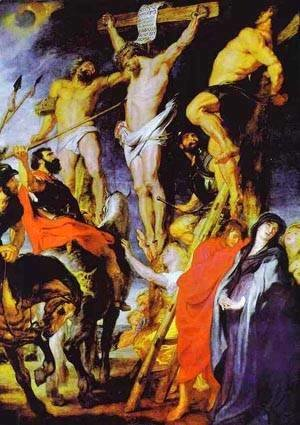 Rubens - Christ On The Cross 1620