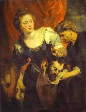 Judith With The Head Of Holofernes 1620-1622