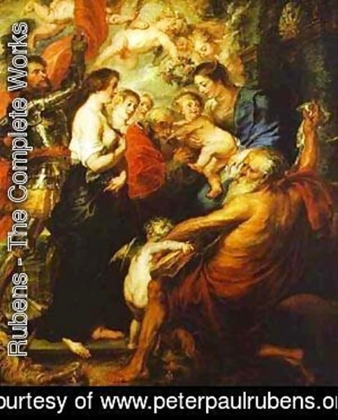 Rubens - Madonna With The Saints 1638-1640