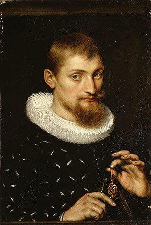 Rubens - Portrait of a Man Possibly an Architect or Geographer