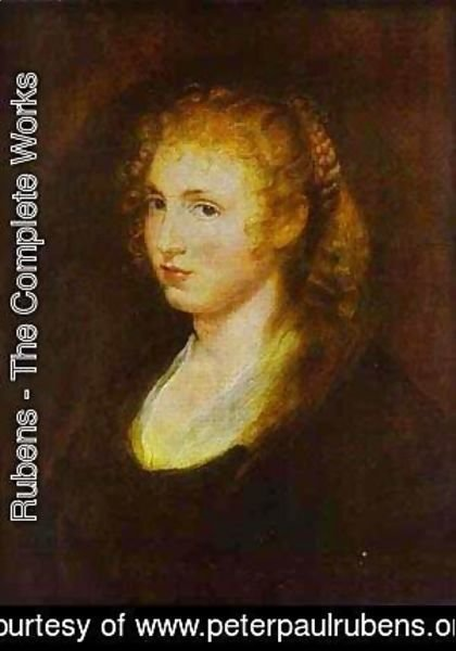 Rubens - Portrait Of A Woman 3