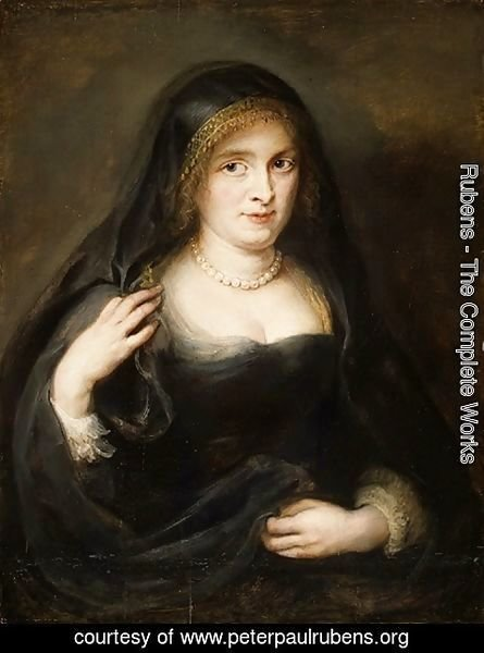 Rubens - Portrait of a Woman Probably Susanna Lunden