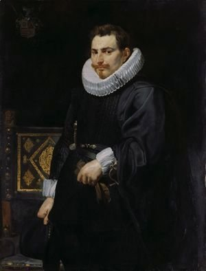 Rubens - Portrait of Jan Vermoelen 1616
