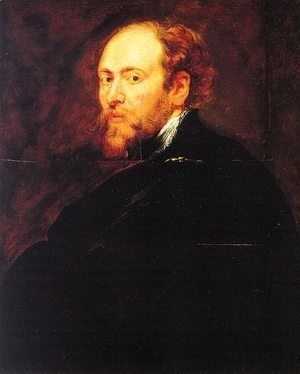 Rubens - Self Portrait Without A Hat 1639 X