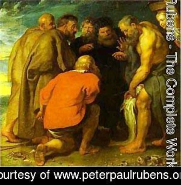 Rubens - St Peter Finding The Tribute Money 1618