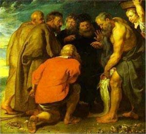 St Peter Finding The Tribute Money 1618