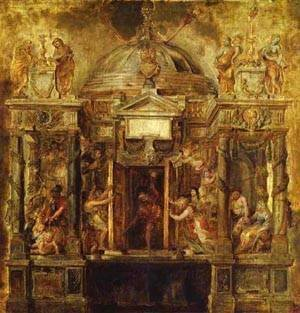 Rubens - Temple Of Janus Study 1635