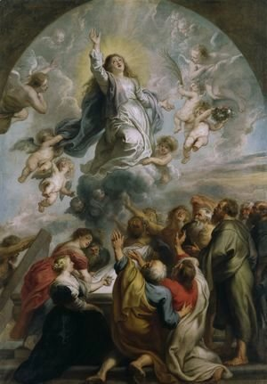 Rubens - The Assumption of the Virgin c 1637