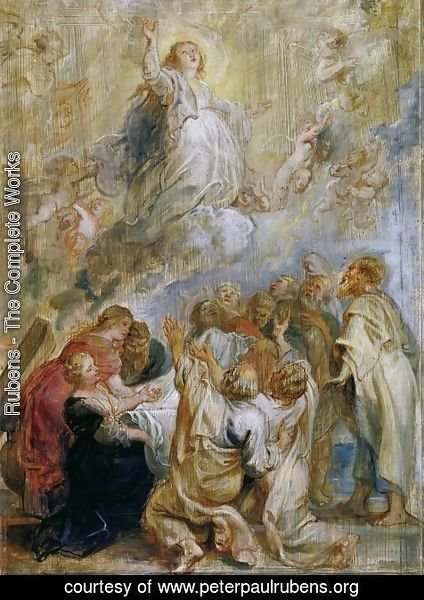 Rubens - The Assumption of the Virgin modello 1637