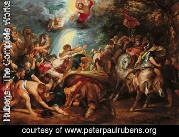 Rubens - The Conversion of St Paul 1601 1602