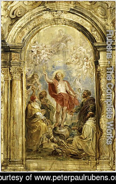 Rubens - The Glorification of the Eucharist probably ca 1630