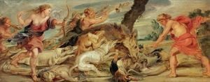 Rubens - The Hunt of Meleager and Atalanta 1628