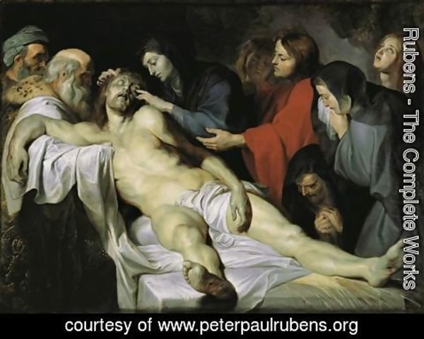 Rubens - The Lamentation c 1613 1614