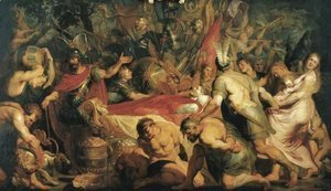 Rubens - The Obsequies of Decius Mus