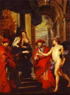 Rubens - The Treaty Of Angouleme 1621-1625