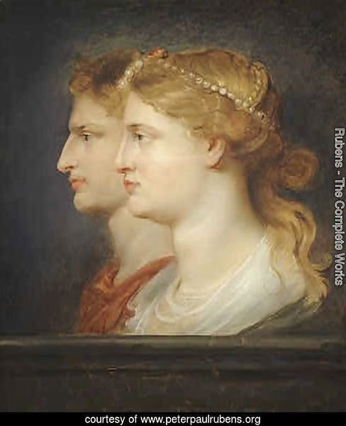 Tiberius And Agrippina 1614