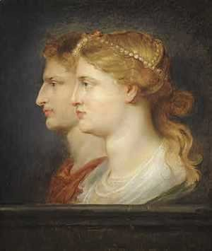 Rubens - Tiberius And Agrippina 1614