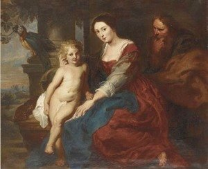 Rubens - The Holy Family 2