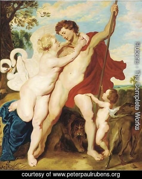 Rubens - Venus and Adonis 2