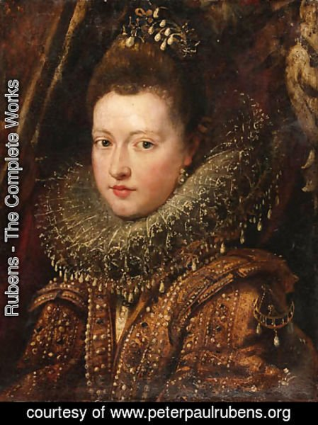 Rubens - Portrait of Princess Margherita Gonzaga